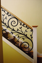 Decorative outdoor/indoor handrails for stairs