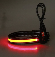 2019 trending products innovative reflective pet collar led flashing dog collar
