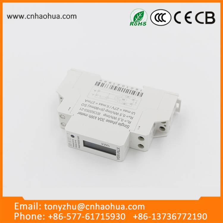 wholesale products china modbus 3 phase din rail energy meter