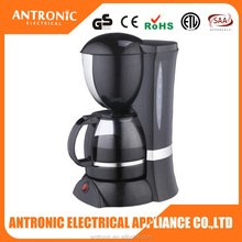 2015 popular Antronic unique modern style coffee maker 1.6L 12~15cups smart anti-drip system drip coffee maker
