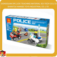 wange plastic connecting toys baby toys police toy
