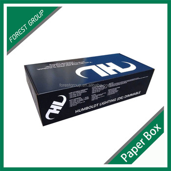 Corrugated paper box offeset CMYK full color printing