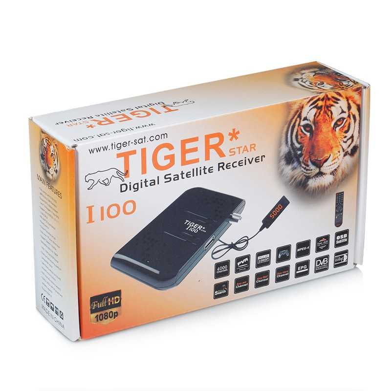Tiger Receiver I100 Satellite TV Receiver DVB S2 Decoder
