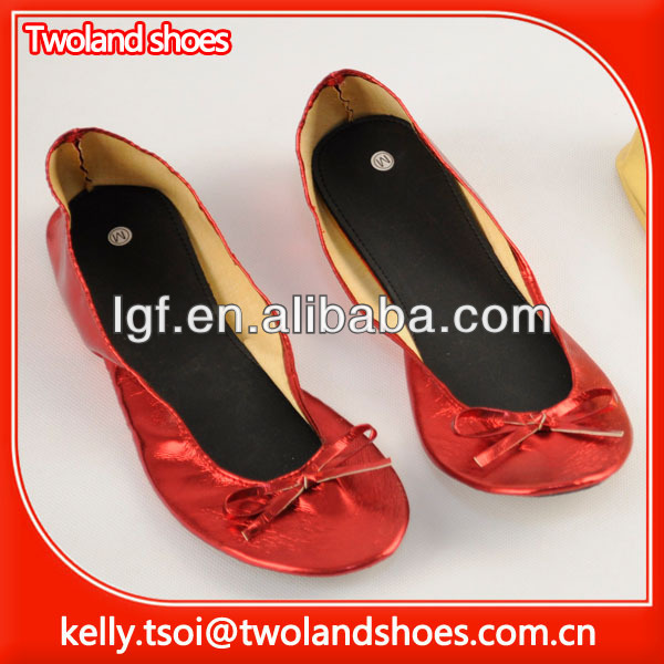 2012 New fashion ladies ballerina shoes
