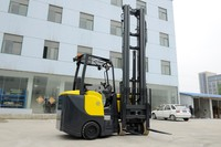 2000 kg 5.2m Electric forklift Price Battery lifter powered pallet forklift truck