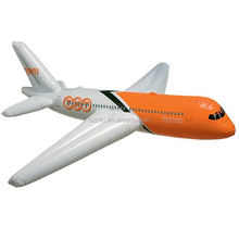 pvc large inflatable airplane toy party decoration