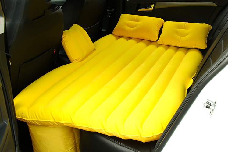 2017 car air bed Hot Selling Outdoor Inflatable Air Car Bed for Car Backseat