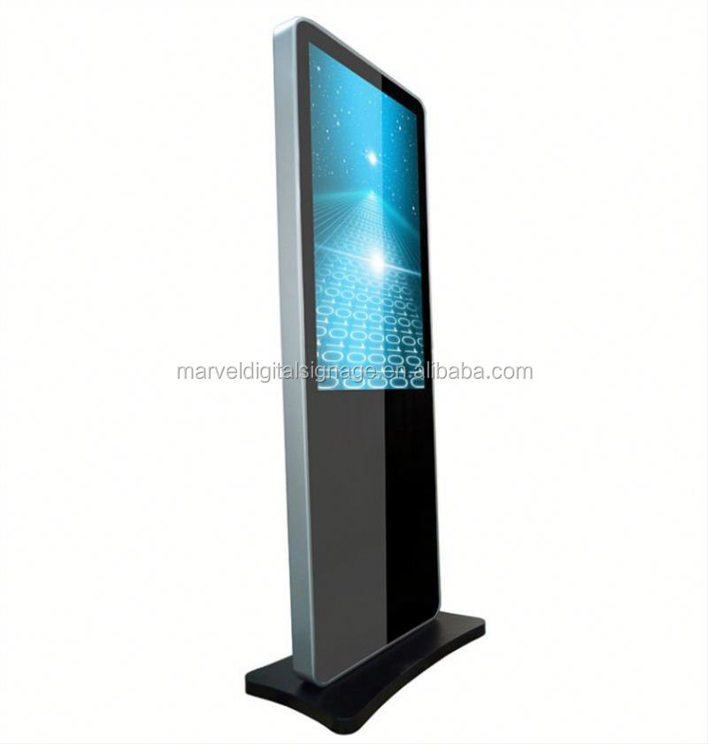 55 Inch Stand Alone lcd backlight screen display for advertising