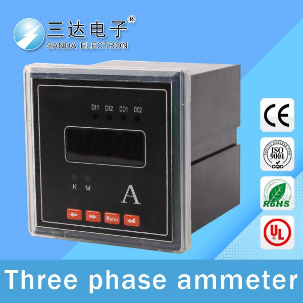 combined maximum demand ammeter