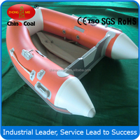 2 people Inflatable Boat with 38cm Transom Height