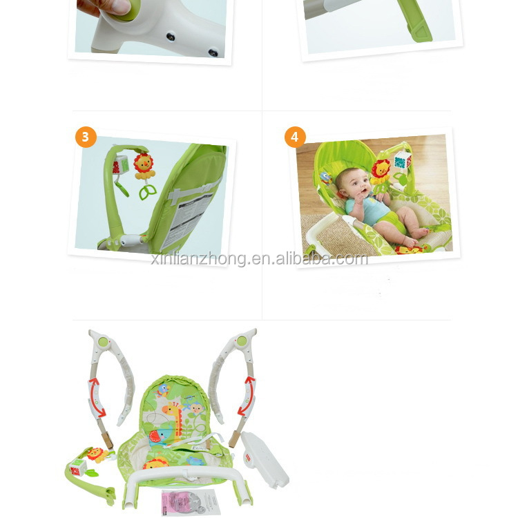 Hot Sales Rainforest Newborn to Toddler Portable Rocker Multifunctional baby rocking chair