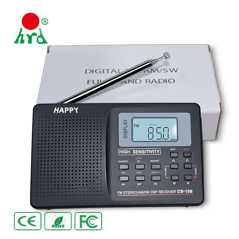 High Quality Digital Am Fm Shortwave Radio