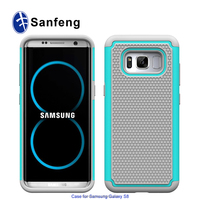 Full-Body Protective Case with Dual Layer for Samsung Galaxy S8 Case