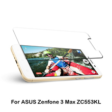 Hot in Czech 0.33mm Japan Asahi Tempered Glass Screen Protector for ASUS Zenfone 3 Max ZC553KL