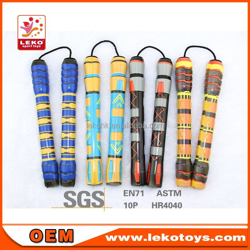 LEKO pu nunchakus toys in colorful