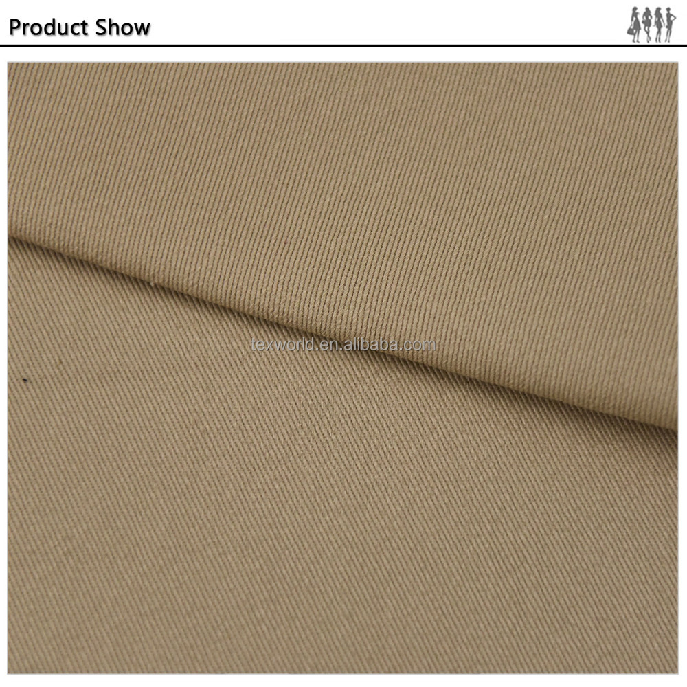 Modern design and high quality products twill fabric used for garment /clothing