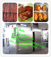automatic chicken meat sausage smoking equipment for sale