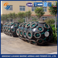 Pneumatic type rubber fender with selected material in china
