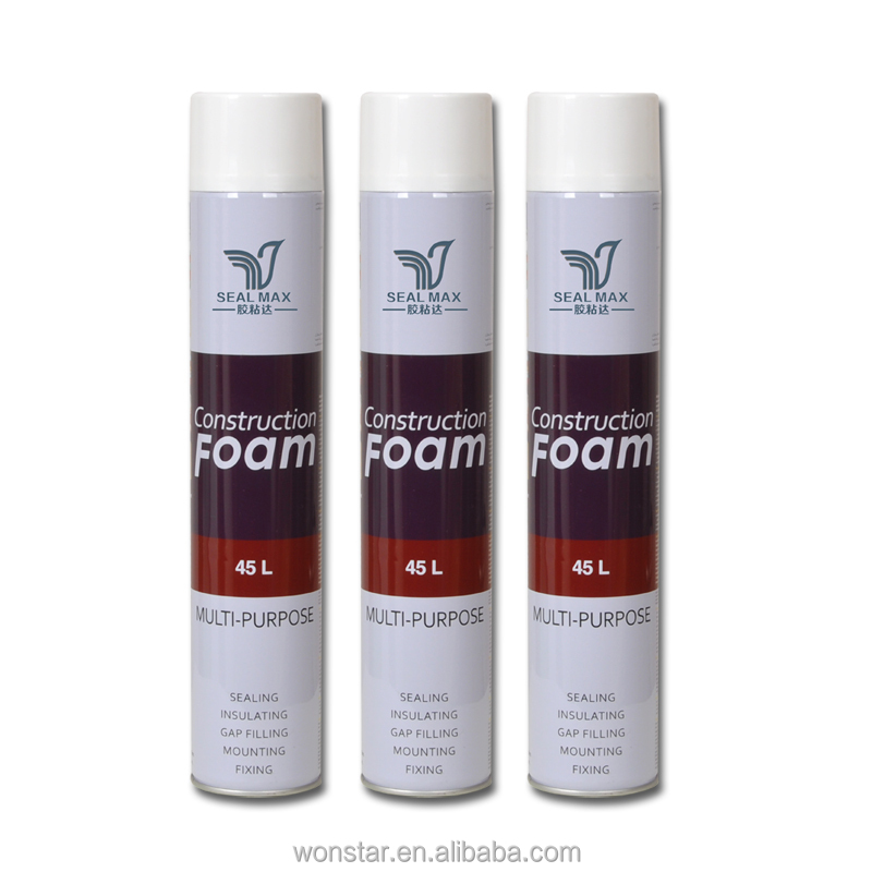 Waterproof polyurathane expanding spray pu foam sealant