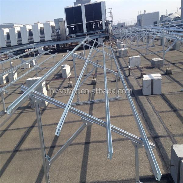 Aluminium Flat Roof Solar Mounting Brackets Solar Power