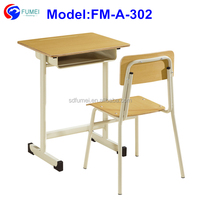 Modern classroom furniture study table and chair