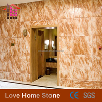 china natural pink marble floor tile 12x12