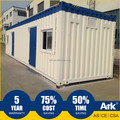 Ark Top Quality Good Price Long Lifespan Modified Container Prefabricated Steel municipal field Containers