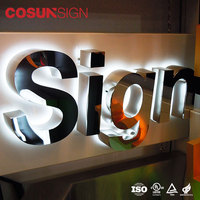 restaurant outdoor open led sign