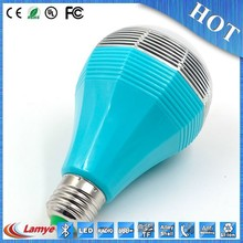 new 2014 unique hot sale led bluetooth speaker bulb