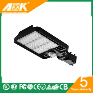 aok hot sale high cost effective 150 watt led street light with UL DLC CE certification
