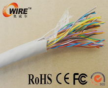 Factory Supplier Drop Wire Telephone Cable Color Code 2 Pair Telephone Cable 0.5Mm Low Price