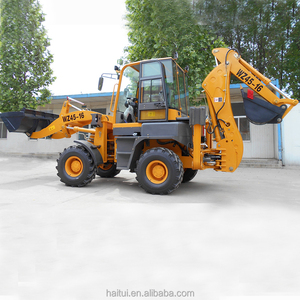 Multifunction Towable Mini Tunnel Backhoe With 4 in 1 Bucket
