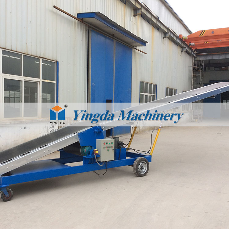 Hot splicing press mobile bulk coal mine conveyor belt
