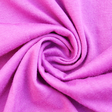 solid dyed 32S 65/ 35 tc blend fabric 65 polyester 35 cotton knitted singl jersey for shirt ,linging