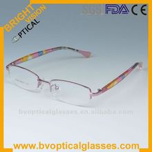 Bright Vision S026 lovely pattern cute customized kids' reading glasses