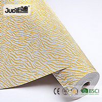 Top supplier best price PP self-adhesive wallpaper gold