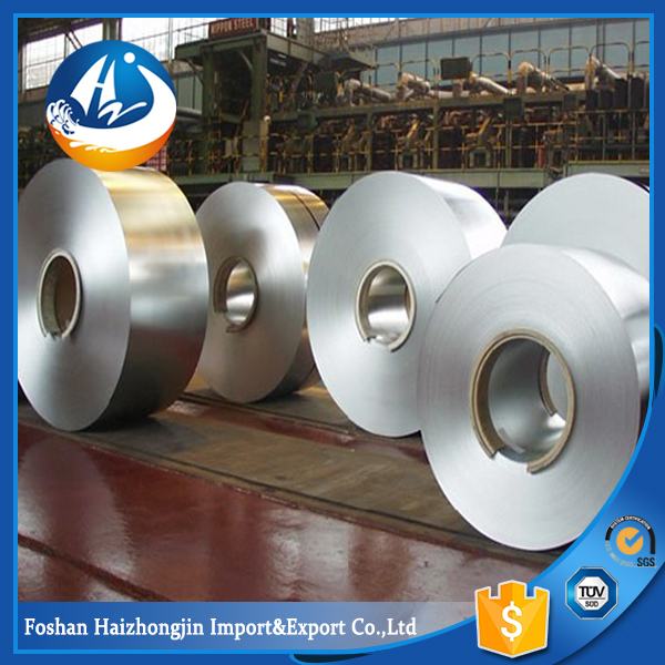 AISI 321 2B stainless steel coil/roll/strip with interleaving paper pvc film