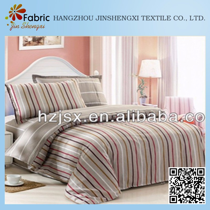 High quality bedsheet quilt pattern print cotton fabric