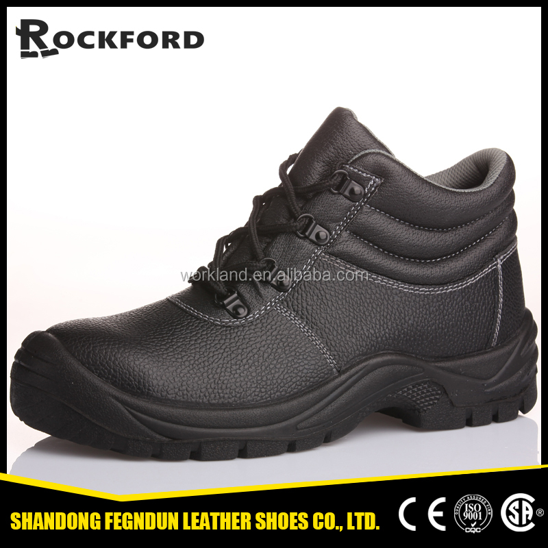 Most popular second layer leather 8 dollars safety shoes and building shoes FD4103
