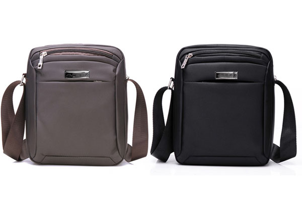 Top selling single strap crossbody bag business nylon shoulder bag men messenger