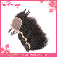 Unprocessed wholesale virgin Mongolian kinky curly hair weave7A grade kinky curly wig