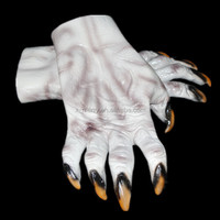 X-MERRY Zombie Hands Halloween Latex Walking Dead Witch Wall Decor Hanging Haunted