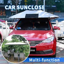 SUNCLOSE front type and nylon material universal fashion motorcycle waterpoof shelter car front heated grill covers