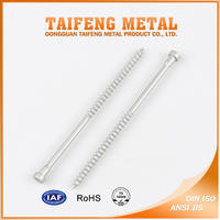 dacromet plated torx cap head customized self tapping screw