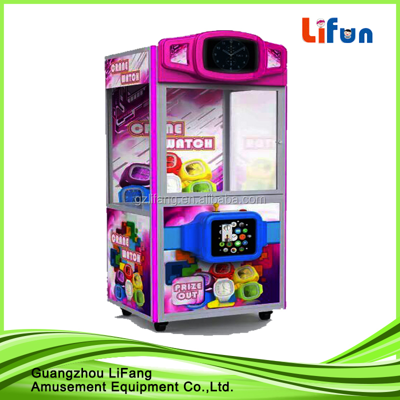 arcade claw machine for sale/ small claw machine/ coin operated claw crane machine