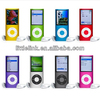 New Cheap Slim 4th 1.8'' 4GB Built-in mp4 Music Player Fm Mp4 Player Voice Recorder E-book Reading Player