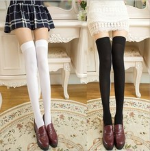 Velvet silk stockings students princess socks Dance sox over-the-knee thigh stockings