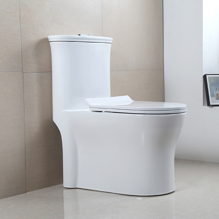 Hot Sell Floor Mounted Dual-Flush Bathroom WC Toilet