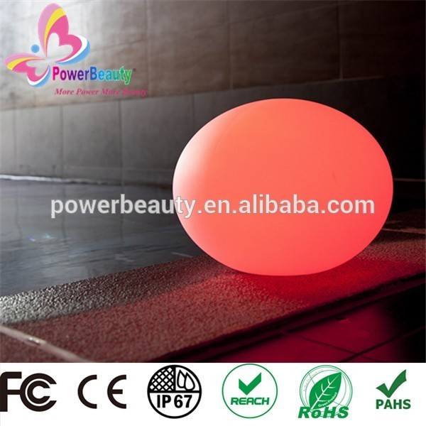 garden swimming pool glow christmas beach led magic ball light