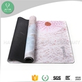 Top quality 2 layer non-slip rubber yoga mat by manufacturer